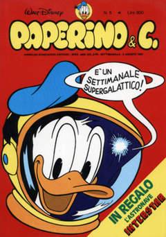 Copertina PAPERINO & C. n.5 - Paperino & C., MONDADORI EDITORE