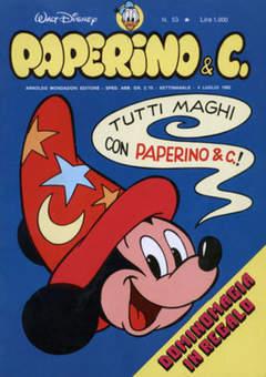 Copertina PAPERINO & C. n.53 - Paperino & C., MONDADORI EDITORE