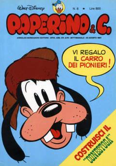 Copertina PAPERINO & C. n.8 - Paperino & C., MONDADORI EDITORE