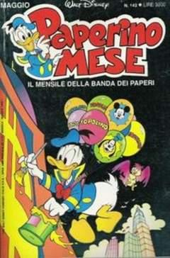 Copertina PAPERINO MESE n.143 - PAPERINO MESE              143, MONDADORI EDITORE