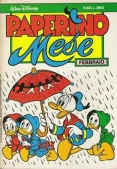 Copertina PAPERINO MESE n.68 - PAPERINO MESE               68, MONDADORI EDITORE