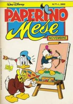 Copertina PAPERINO MESE n.77 - PAPERINO MESE               77, MONDADORI EDITORE