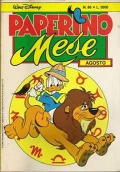 Copertina PAPERINO MESE n.86 - PAPERINO MESE               86, MONDADORI EDITORE