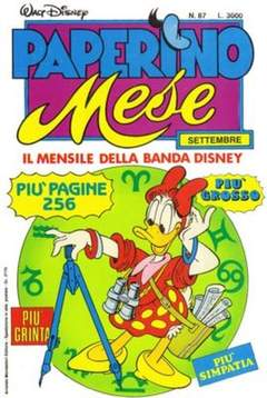 Copertina PAPERINO MESE n.87 - PAPERINO MESE               87, MONDADORI EDITORE