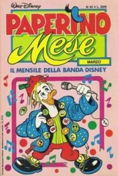 Copertina PAPERINO MESE n.93 - PAPERINO MESE               93, MONDADORI EDITORE
