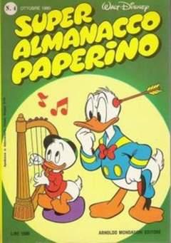 Copertina PAPERINO MESE n.4 - PAPERINO MESE                4, MONDADORI EDITORE