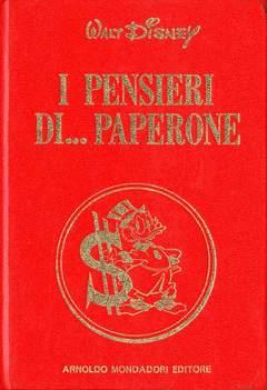 Copertina PENSIERI DI PAPERONE n. - PENSIERI DI PAPERONE, MONDADORI EDITORE