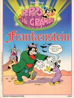 Copertina PIPPO IL GRANDE n.1 - Frankenstein, MONDADORI EDITORE