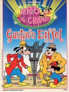 Copertina PIPPO IL GRANDE n.2 - Gustavo Eiffel, MONDADORI EDITORE