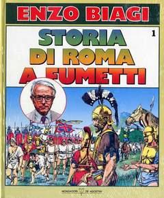 Copertina STORIA DI ROMA A FUMETTI n.1 - STORIA DI ROMA A FUMETTI, MONDADORI EDITORE