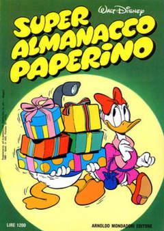 Copertina SUPER ALM.PAPERINO I SERIE n.17 - SUPER ALM.PAPERINO I SERI   17, MONDADORI EDITORE