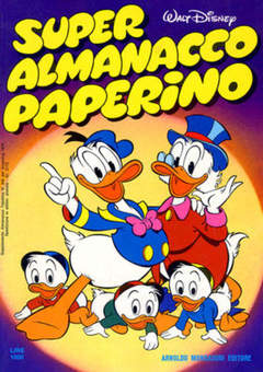 Copertina SUPER ALM.PAPERINO I SERIE n.1 - SUPER ALM.PAPERINO I SERI    1, MONDADORI EDITORE