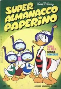 Copertina SUPER ALM.PAPERINO I SERIE n.7 - SUPER ALM.PAPERINO I SERI    7, MONDADORI EDITORE
