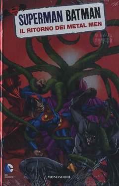 Copertina SUPERMAN/BATMAN n.9 - METAL MEN, MONDADORI EDITORE