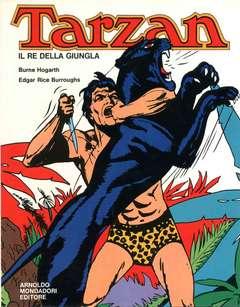 Copertina TARZAN IL RE DELLA GIUNGLA n.1 - I ED.1971 CON SOVRACOPERTINA, MONDADORI EDITORE