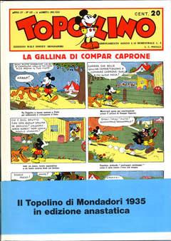 Copertina TOPOLINO GALLINA DI COMPAR CAP n. - TOPOLINO,LA GALLINA DI COMPAR CAPRONE, MONDADORI EDITORE