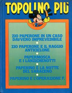 Copertina TOPOLINO OMAGGI ABBONATI n.1985 - Topolino Più, MONDADORI EDITORE