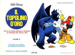 Copertina TOPOLINO D'ORO n.11 - TOPOLINO D'ORO              11, MONDADORI EDITORE