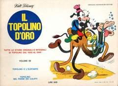 Copertina TOPOLINO D'ORO n.12 - TOPOLINO D'ORO              12, MONDADORI EDITORE