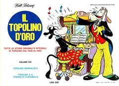 Copertina TOPOLINO D'ORO n.14 - TOPOLINO D'ORO              14, MONDADORI EDITORE