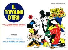 Copertina TOPOLINO D'ORO n.2 - TOPOLINO D'ORO               2, MONDADORI EDITORE