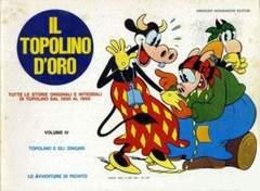 Copertina TOPOLINO D'ORO n.4 - TOPOLINO D'ORO               4, MONDADORI EDITORE