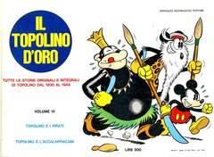 Copertina TOPOLINO D'ORO n.6 - TOPOLINO D'ORO               6, MONDADORI EDITORE