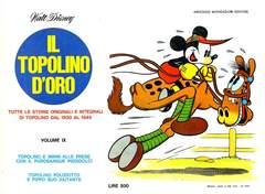 Copertina TOPOLINO D'ORO n.9 - TOPOLINO D'ORO               9, MONDADORI EDITORE