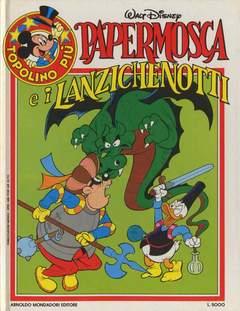 Copertina TOPOLINO PIU' n.5 - PAPERMOSCA E I LANZICHEROTTI, MONDADORI EDITORE