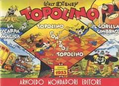 Copertina TOPOLINO STRISCIE GIORNALIERE n.10 - ANNO 1953, MONDADORI EDITORE
