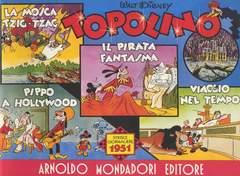 Copertina TOPOLINO STRISCIE GIORNALIERE n.8 - ANNO 1951, MONDADORI EDITORE