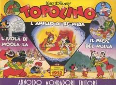 Copertina TOPOLINO STRISCIE GIORNALIERE n.9 - ANNO 1952, MONDADORI EDITORE