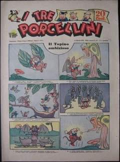 Copertina I TRE PORCELLINI n.3 - I TRE PORCELLINI             3, MONDADORI EDITORE
