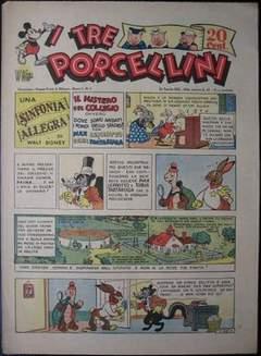 Copertina I TRE PORCELLINI n.5 - I TRE PORCELLINI             5, MONDADORI EDITORE
