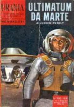 Copertina URANIA n.216 - ULTIMATUM DA MARTE, MONDADORI EDITORE