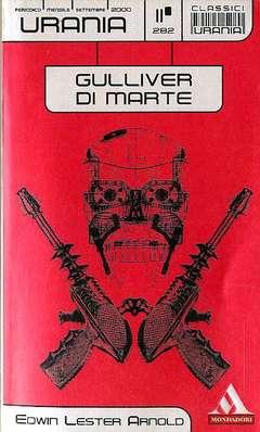 Copertina URANIA CLASSICI n.282 - GULLIVER DI MARTE, MONDADORI EDITORE