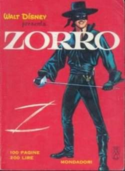 Copertina ZORRO 1966 n.1 - ZORRO 1966                   1, MONDADORI EDITORE