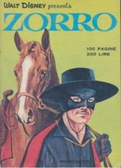 Copertina ZORRO 1968 n.4 - ZORRO 1968                   4, MONDADORI EDITORE