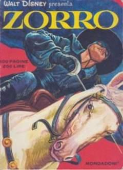 Copertina ZORRO 1969 n.1 - ZORRO 1969                   1, MONDADORI EDITORE