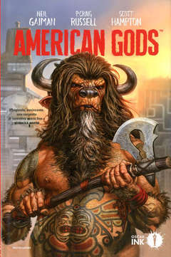 Copertina AMERICAN GODS n.1 - LE OMBRE, MONDADORI OSCAR INK