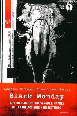 Copertina BLACK MONDAY n.1 - BLACK MONDAY, MONDADORI OSCAR INK