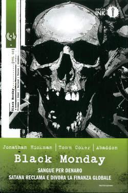 Copertina BLACK MONDAY n.2 - BLACK MONDAY, MONDADORI OSCAR INK