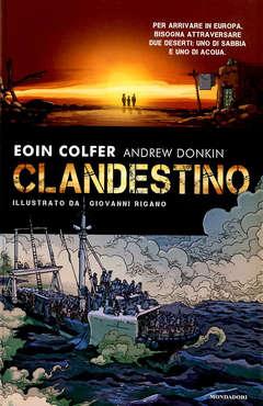 Copertina CLANDESTINO n. - CLANDESTINO, MONDADORI OSCAR INK