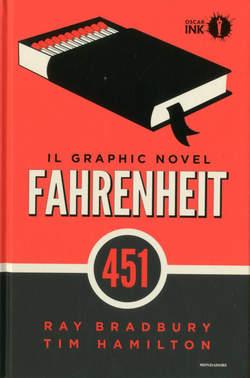 Copertina FAHRENHEIT 451 n. - FAHRENHEIT 451, MONDADORI OSCAR INK