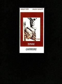 Copertina PORTFOLIO TOPPI DONNE GUERRIER n. - DONNE GUERRIERE, MUSEO ITALIANO DEL FUMETTO