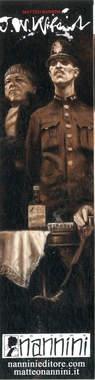 Copertina J.W.WILAND SEGNALIBRI n.4 - SGT. COFFIN E SACCHI, NANNINI EDITORE