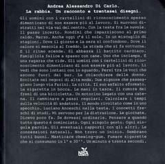 Copertina RABBIA n. - LA RABBIA, NDAPRESS
