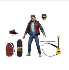 Copertina BACK TO THE FUTURE n.4 - ULTIMATE MARTY MCFLY - ACTION FIGURE 17CM, NECA