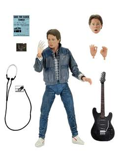 Copertina BACK TO THE FUTURE n.6 - MARTY MCFLY 85 AUDITION - ACTION FIGURE 17CM, NECA