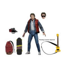Copertina BACK TO THE FUTURE n.1 - BACK TO THE FUTURE - MARTY MCFLY - FIGURE 17CM, NECA